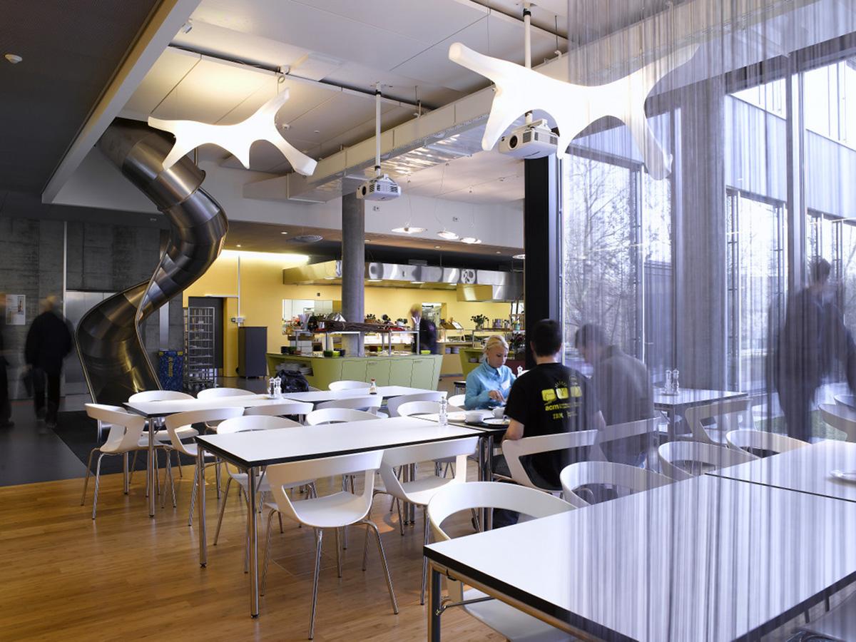 Gli Incredibili Uffici Di Google A Zurigo
