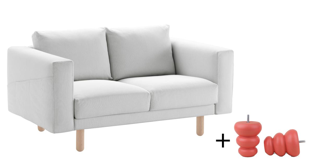 Divani In Legno Ikea.Pomelli Piedini E Frontali Per Personalizzare I Mobili Ikea