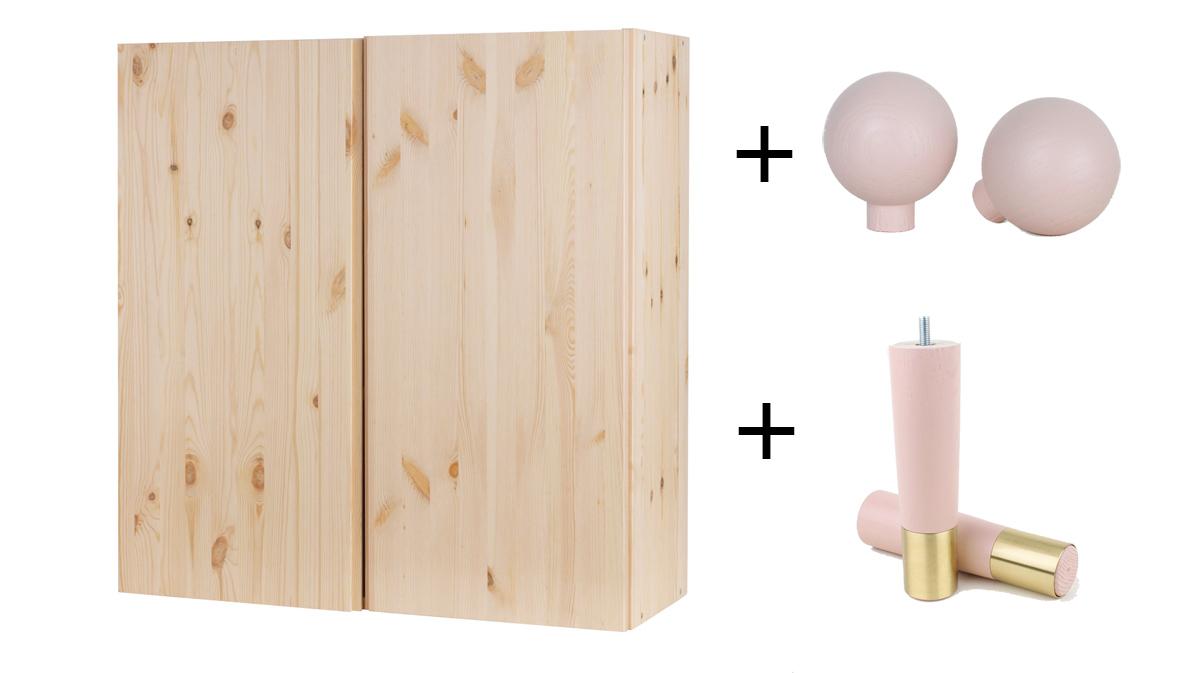 Ikea Piedini Mobili.Pomelli Piedini E Frontali Per Personalizzare I Mobili Ikea