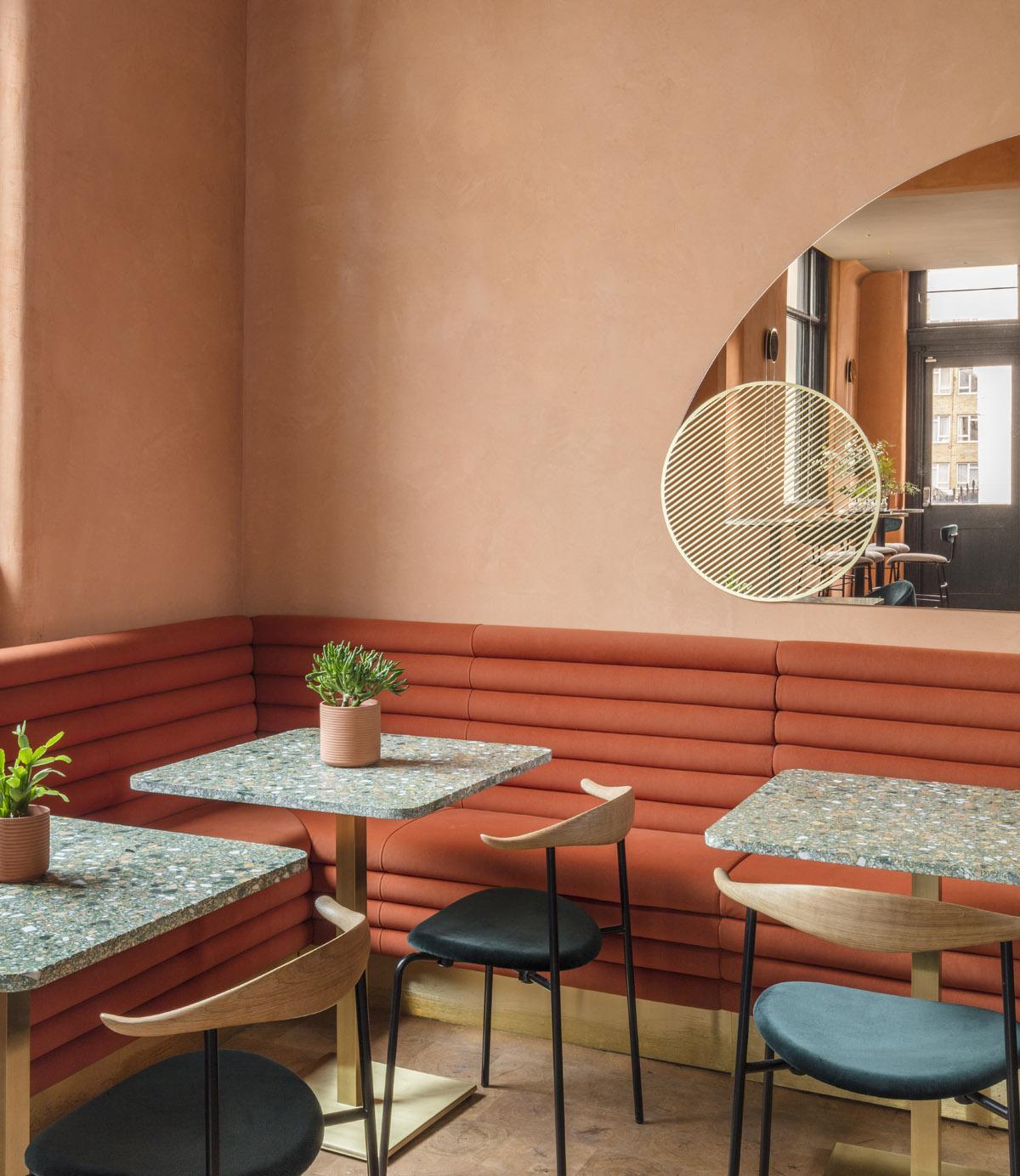 Stile E Interior Design Italiani A Londra: A Londra Un Ristorante In Rosa Dove Mi Trasferirei Subito