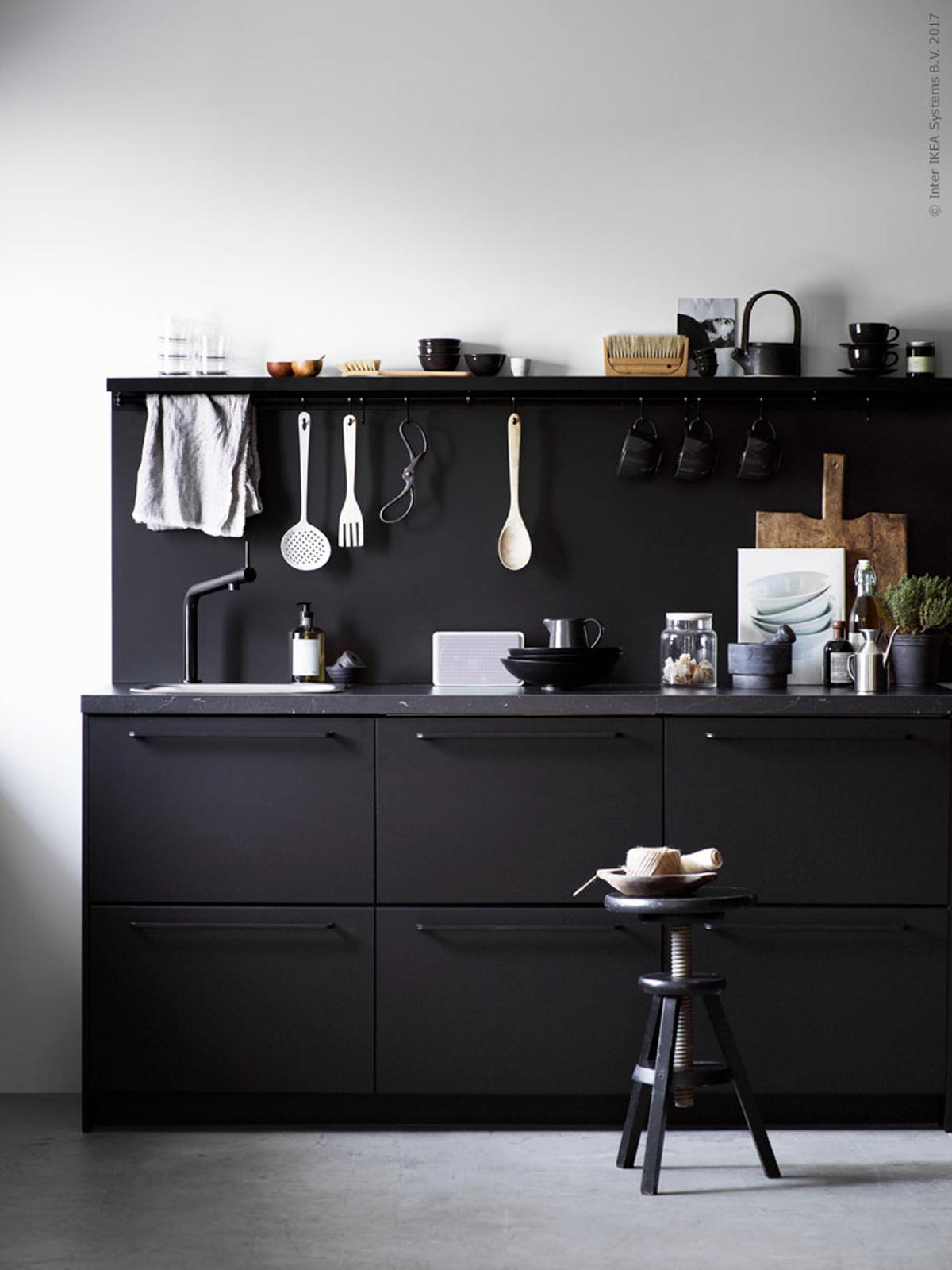 Rubinetti neri per la cucina for Ikea rubinetti cucina