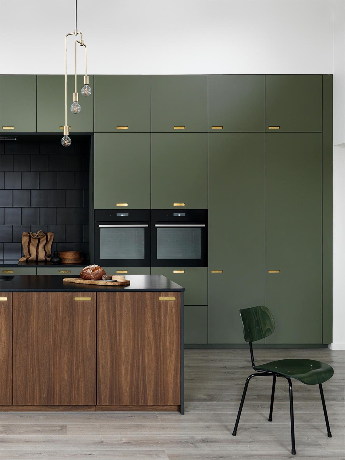 C E Un Nuovo Colore Di Moda In Cucina Il Verde