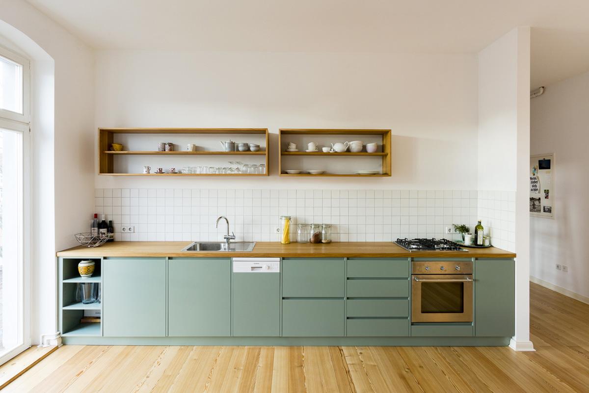 C\'è un nuovo colore di moda in cucina: il verde