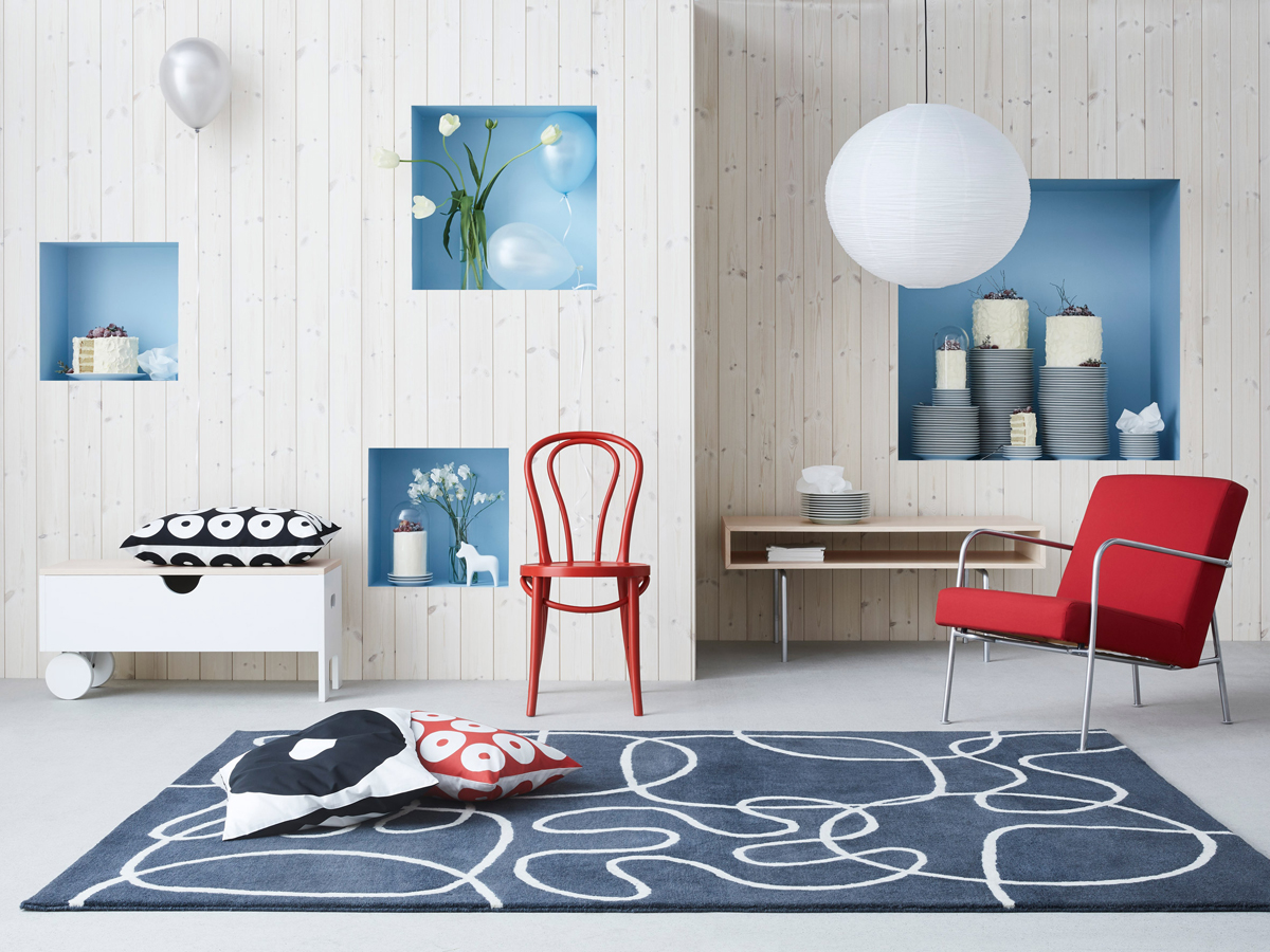 ikea celebrates 75th anniversary with 3 vintage collections