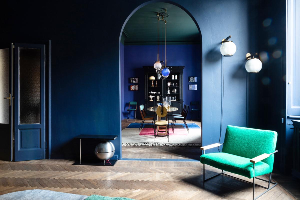 A milano un appartamento diventa galleria di design for Designer a milano