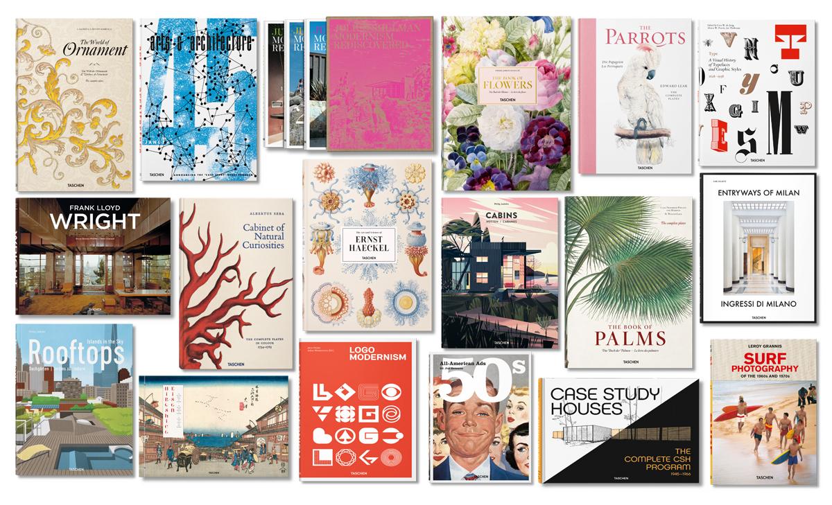 Sconti sui libri taschen di arte architettura design e for Architettura e design roma