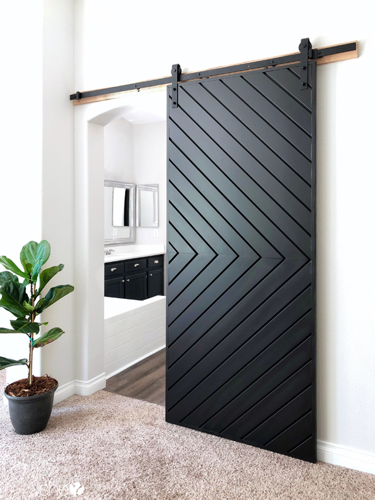 Idee Garage Fai Da Te barn doors: last pinterest sliding doors trend