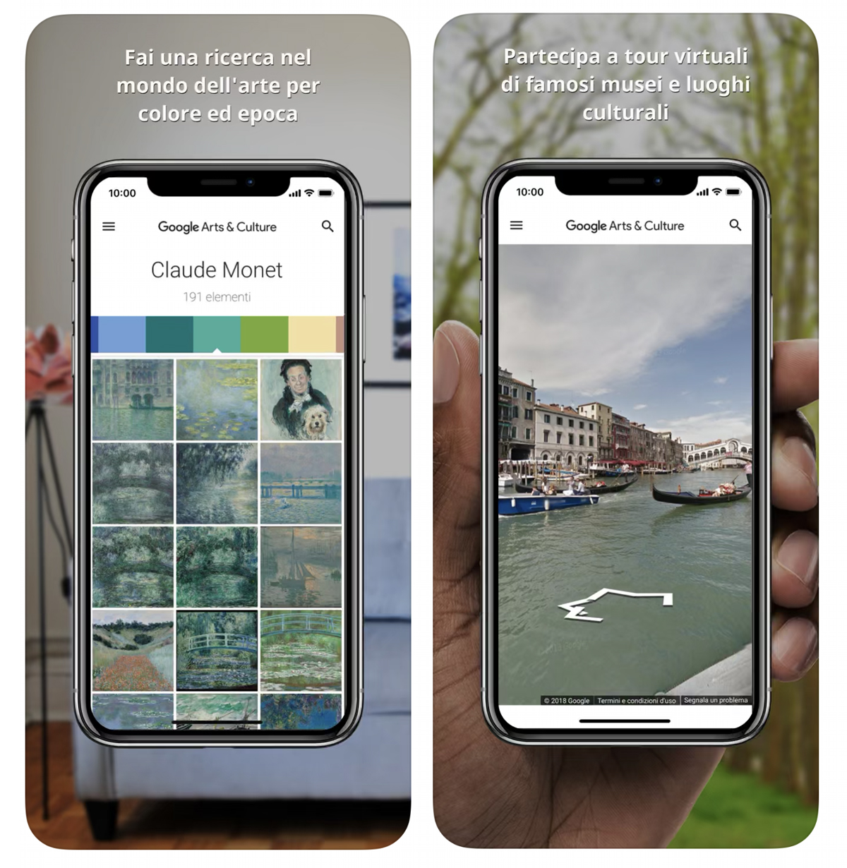 Ricerca Per Immagini Mobile around the world with virtual tours to the most famous