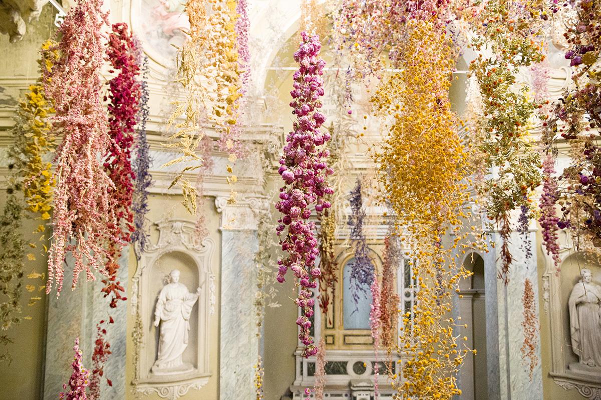 A Parma una cascata di 200 mila fiori da visitare