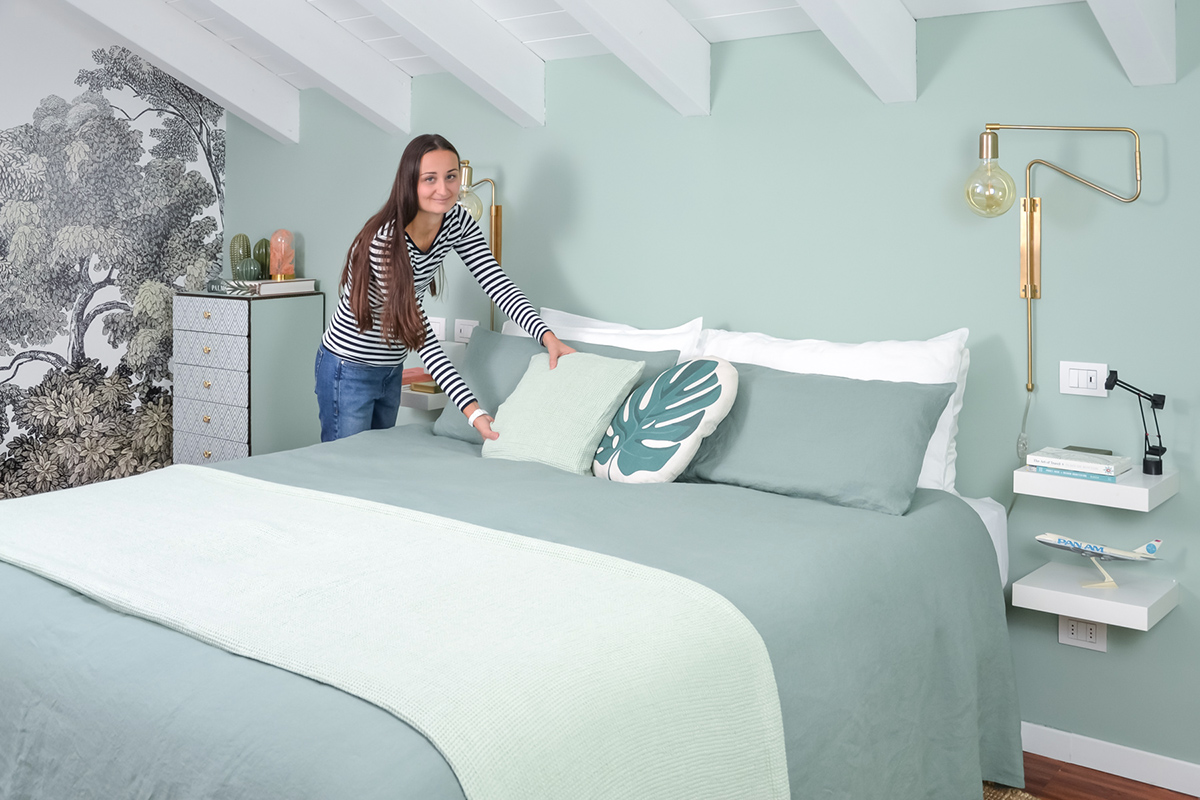 Nuovo letto materasso Pedano